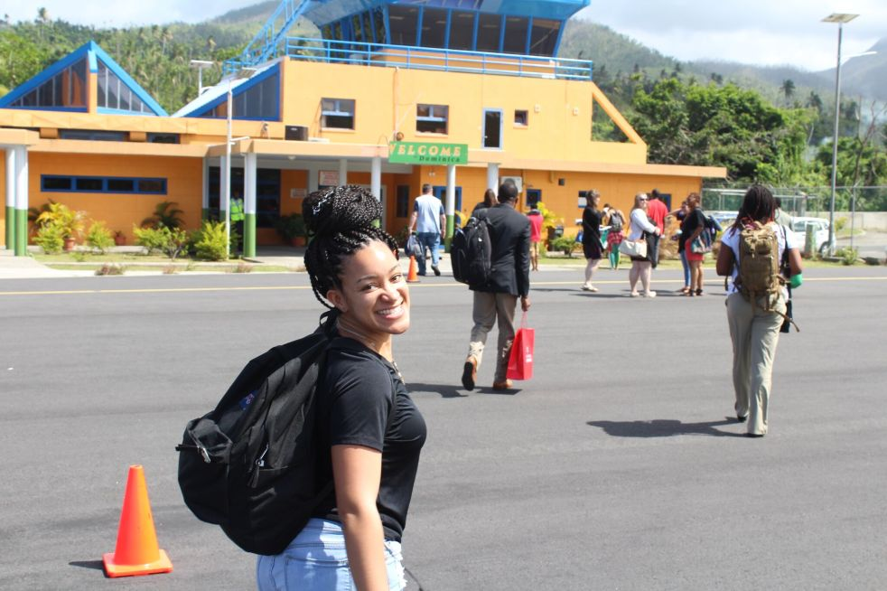 Arriving in Dom
